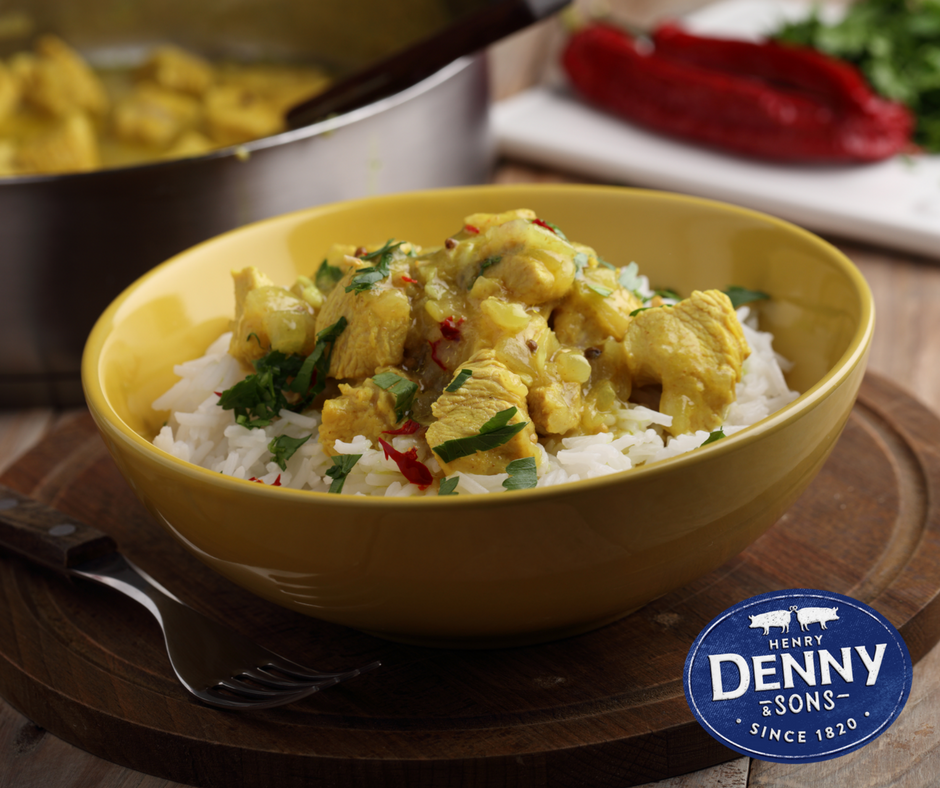 Denny's Leftover Turkey Curry