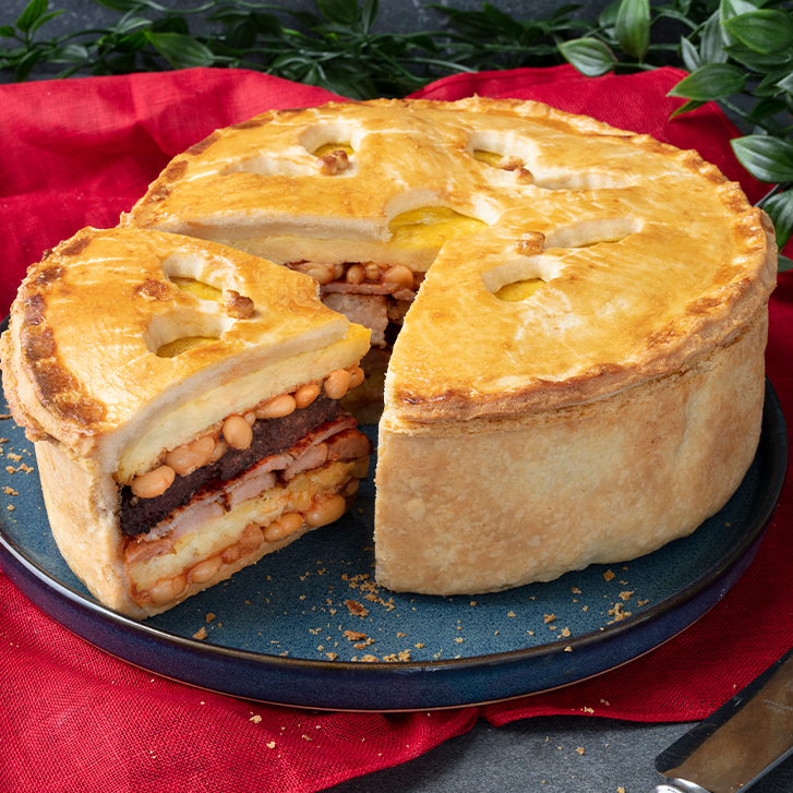 Full Irish Breakfast Pie
