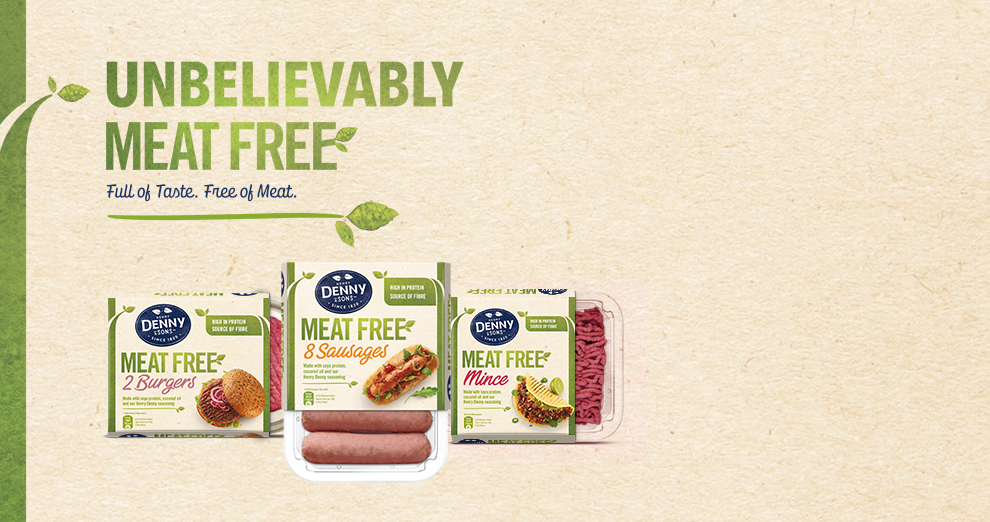 Unbelievably Meat Free Full of taste, Free of Meat
