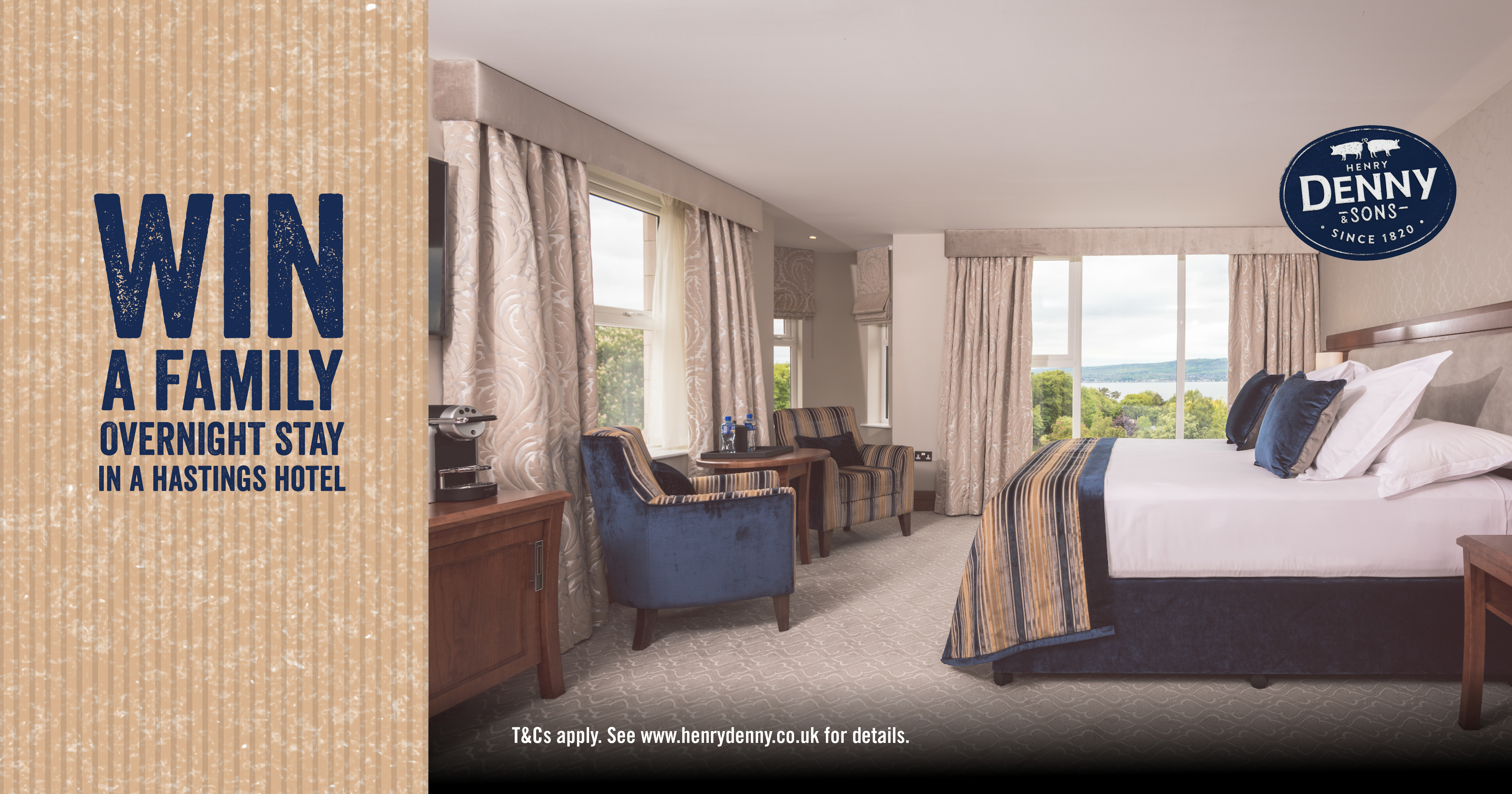 WIN a Family Overnight Stay in Northern Ireland  (CLOSED)